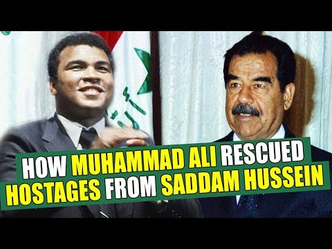 Little Known Black History Fact: Muhammad Ali and The Iraq Hostage Crisis