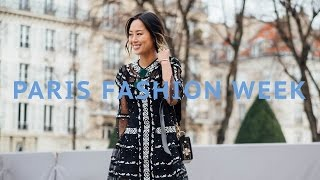 paris fashion week   vlog and outfits song of style