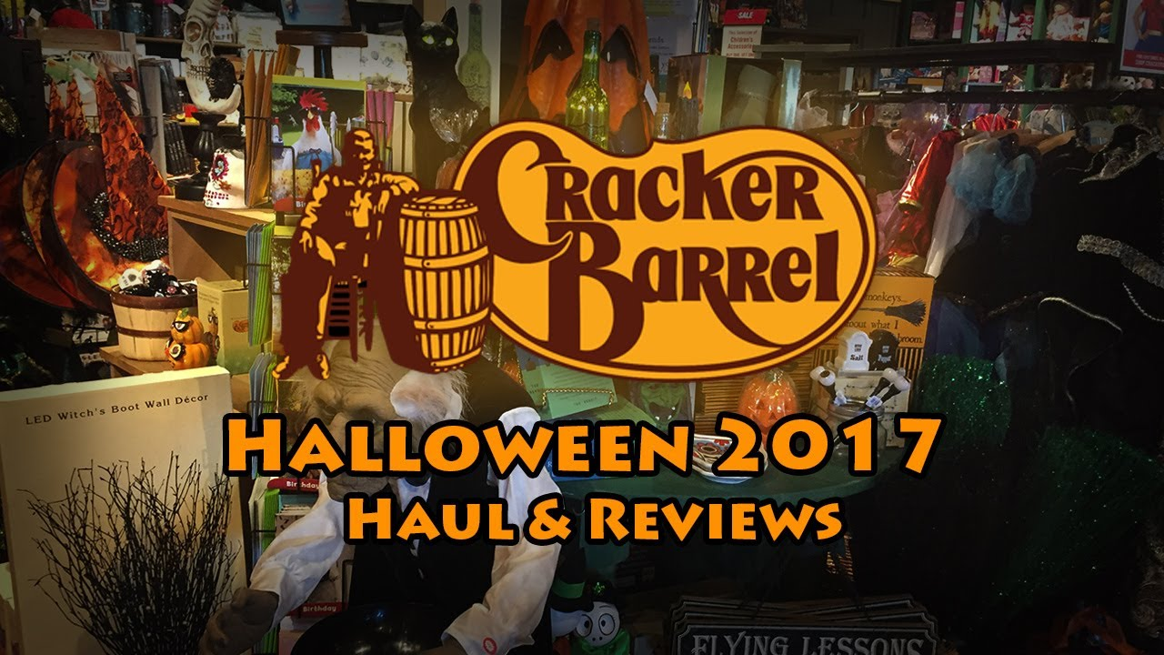 cracker barrel 2017 halloween haul product reviews