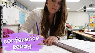 PREPPING FOR CONFERENCES | Day in the Life of a Teacher Ep. 35