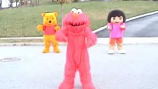 Elmo, Dora && Pooh CRANK DAT