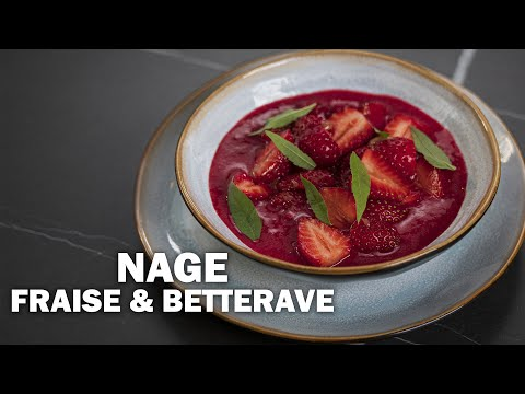 NAGE FRAISE & BETTERAVE by Gaël Orieux