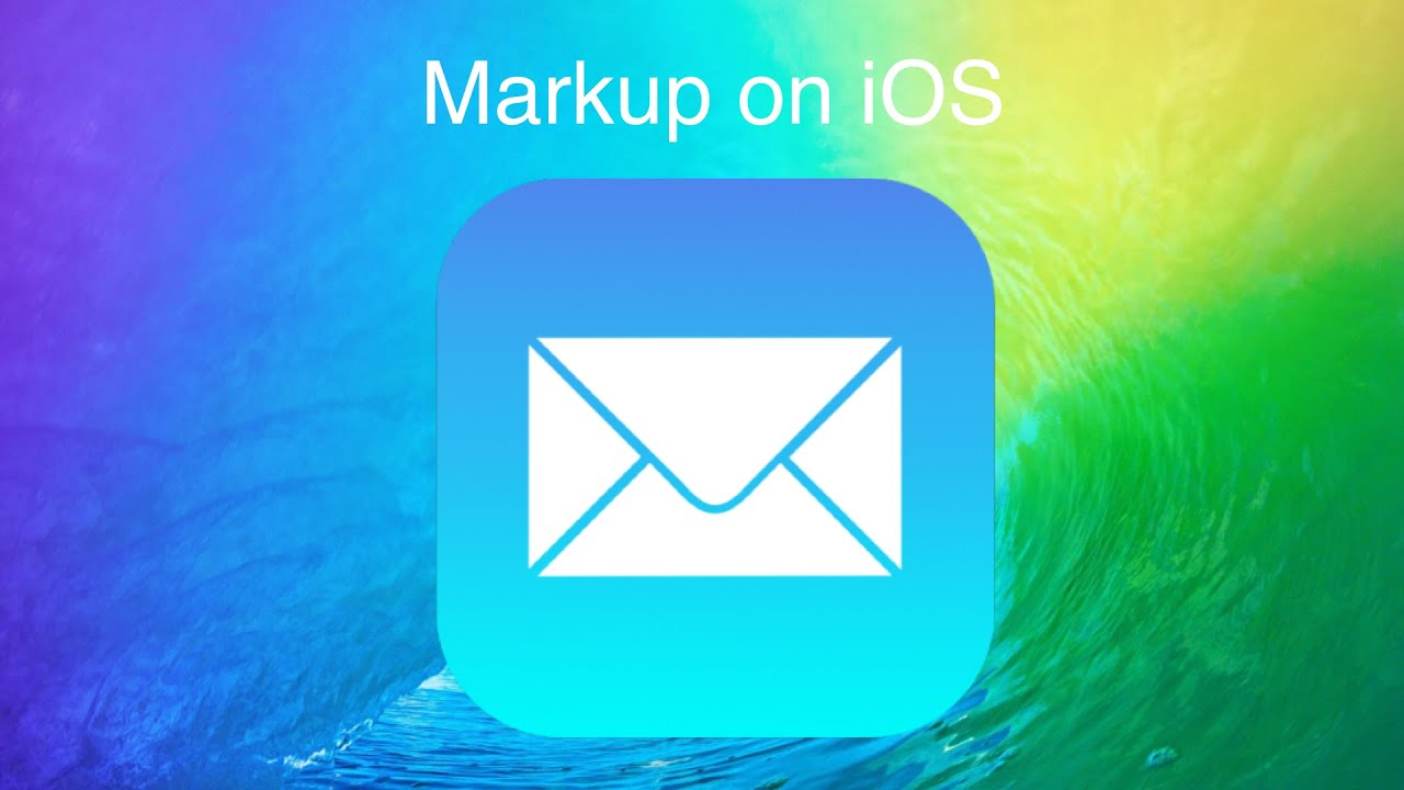 Using Markup on iOS