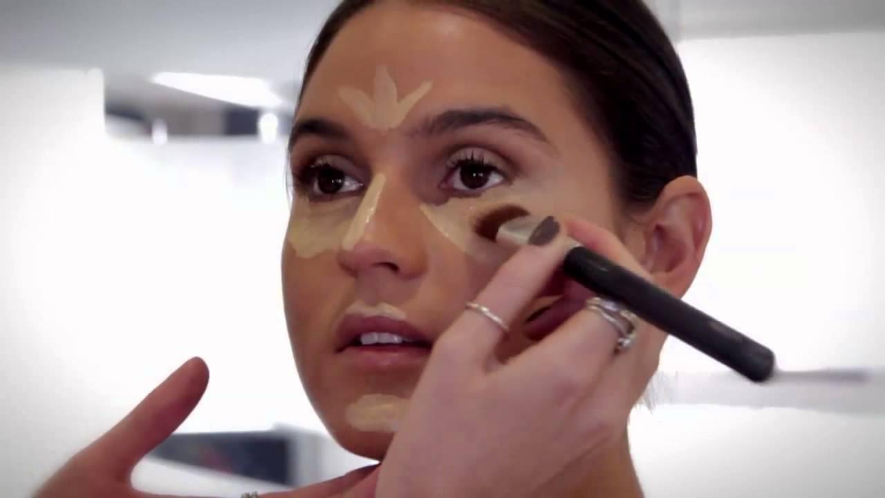 Makeup Tutorial: How To Contour Like Kim Kardashian With Tara O'farrell   Youtube