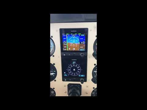 Garmin G5 with a GPS signal loss.