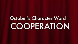 October's Character Word: Cooperation thumbnail