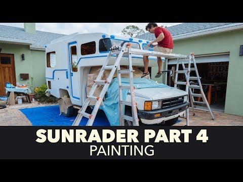 Toyota Sunrader 4x4 Build Part 4 - Painting