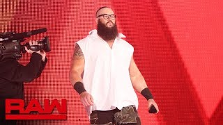 "The Bar meet ""Brains Strowman"": Raw, April 2, 2018"