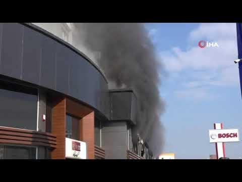 Mersin'de iş yeri yangını: 1 ölü, 5 yaralı