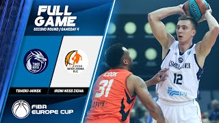 Tsmoki-Minsk v Ironi Ness Ziona - Full Game - FIBA Europe Cup 2019-20
