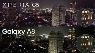 Galaxy A8 vs Xperia C5 Ultra Comparison, Camera Review, Benchmark Speed Test