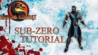 Download Video Mortal Kombat 9 - SUB-ZERO Tutorial Basics, Advanced, Set Ups, Combos, Resets MP3 3GP MP4