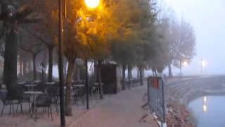 A Walk Through The Mist At Passignano Sul Trasimeno