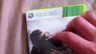 Sniper Elite V2 Xbox 360 Unboxing