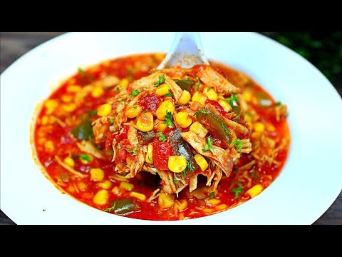 Amazing Chicken Tortilla Soup Recipe