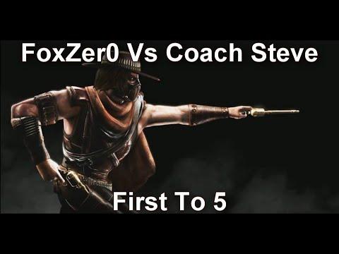 MK11: FoxZer0 (Erron Black) Vs Coach Steve (Jacqui, Kotal Kahn) FT5