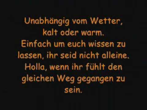 Afraid Deutsch