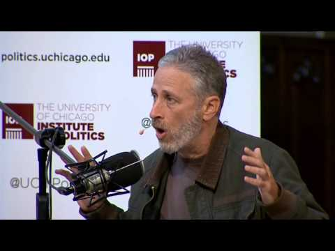 """Live Taping of """"The Axe Files"""" with Jon Stewart, hosted by David Axelrod"""