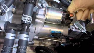 Toyota Camry Starter Replacement - Removal and Installation - 2.5L Engine (2012 - 2014)