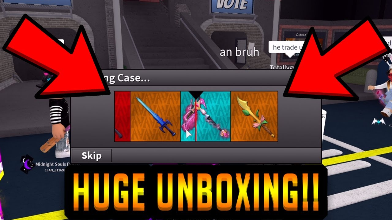 Download BRAND NEW EPIC DREAM SCYTHE!! (HEROIC CASE UNBOXING) (ROBLOX ASSASSIN)