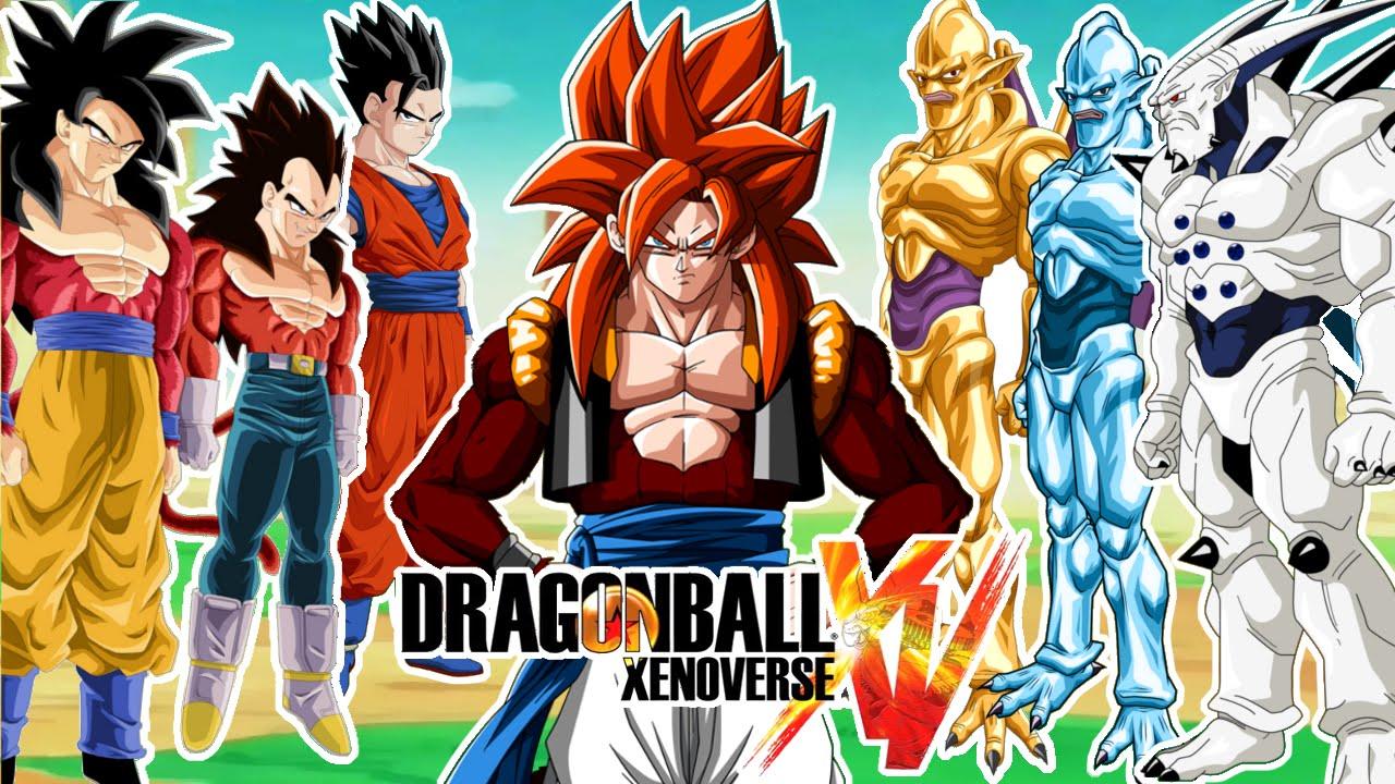 Dragon ball xenoverse goku vegeta gogeta ssj4 gohan vs - Dragon ball xenoverse ss4 vegeta ...