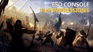 ESO Console PvP Impressions