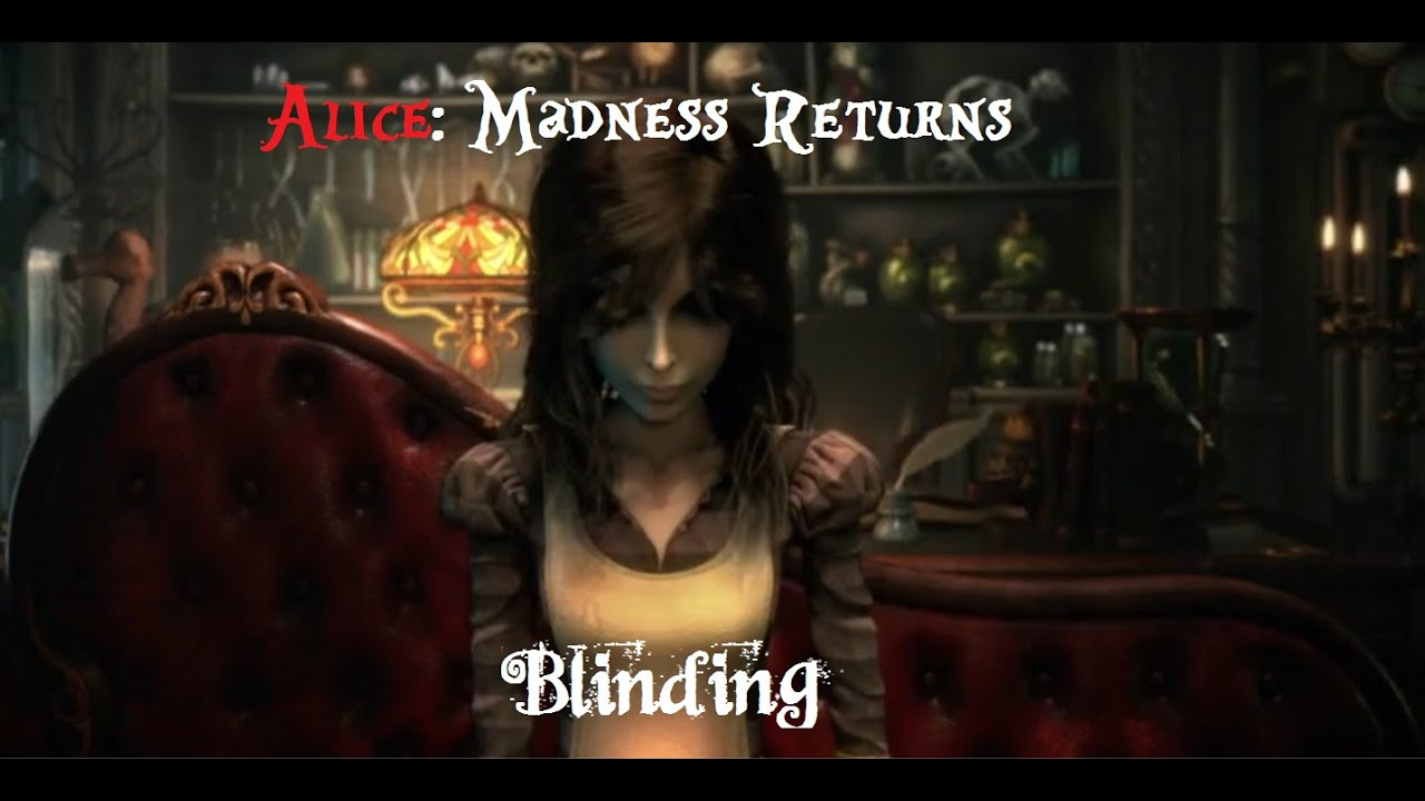 Blinding An Alice Madness Returns Music Video Youtube