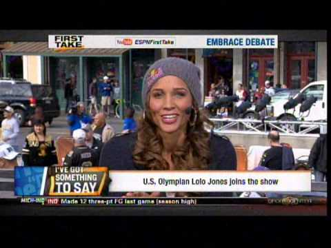 Lolo Jones talks about God