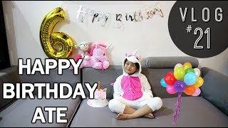 VLOG #21 : ATE AYI's 6th BIRTHDAY SA KIDZANIA - Via Austria