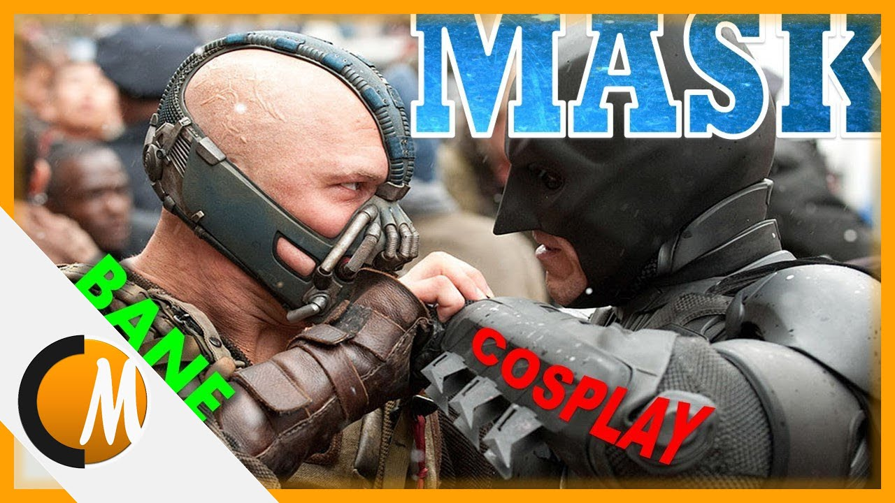 How to make Bane mask || Cosplay #2 & How to make Bane mask || Cosplay #2 - YouTube