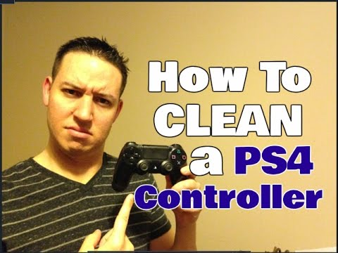 How To Clean A PS4 Controller | 4 Simple Steps | Clean With Confidence