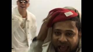Lapiz conciente y J Alvarez grabando video (Mi Forma De Ser)