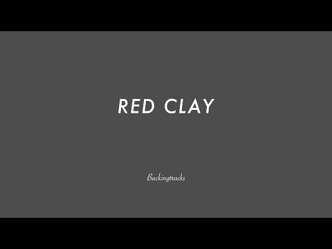 Red Clay- Jazz Backing Track Play Along The Real Book