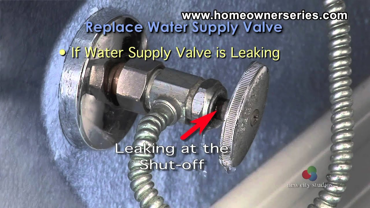 How to Fix a Toilet - Diagnostics - Water Valve - YouTube