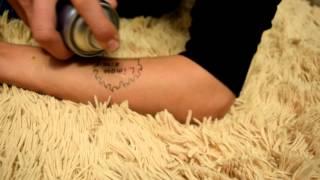 Как сделать татуировку на время (неделю)