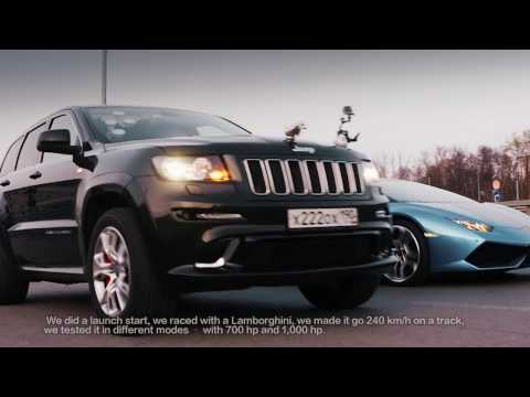 DT Test Drive — 1000 HP Jeep SRT8 vs Lamborghini Huracan