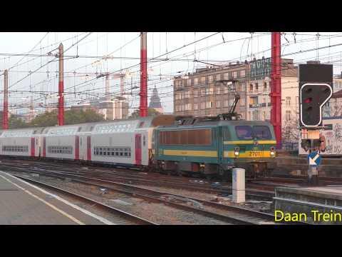 HLE 27 01 met M5 komt aan in Brussel Zuid