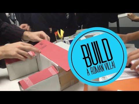 Classroom Ideas - Building A Roman Villa