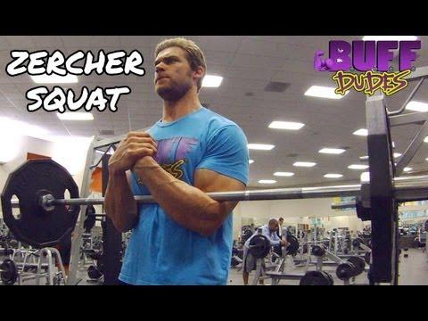 How to Perform Zercher Squats - Leg Squat Exercise