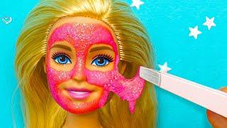 15 мини поделок для Дома мечты куклы Барби Делаем сами туалетную бумагу телевизор и мебель