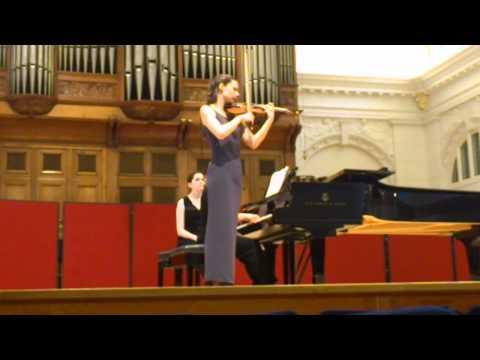 K. Szymanowski - Nocturne and Tarantella, Barbara Dziewiecka violin