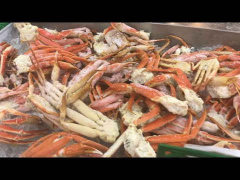 Nam Dae Mun SEAFOOD FARMERS MARKET 🎏🛒- Seafood Department Duluth GA USA