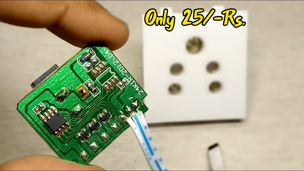 DIY Smart plug | Awesome idea | life hacks |