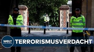 MESSERATTACKE in ENGLAND: Polizei stuft Tat als terroristisch ein