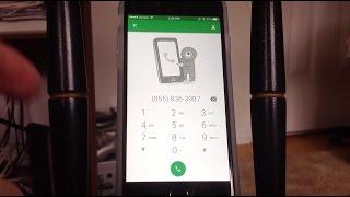 كيفية إجراء مكالمات هاتفية مجانية على دائرة الرقابة الداخلية/الروبوت دون الناقل