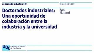 Doctorados industriales: Una oportunidad de colaboración entre la industria y la universidad | UOC