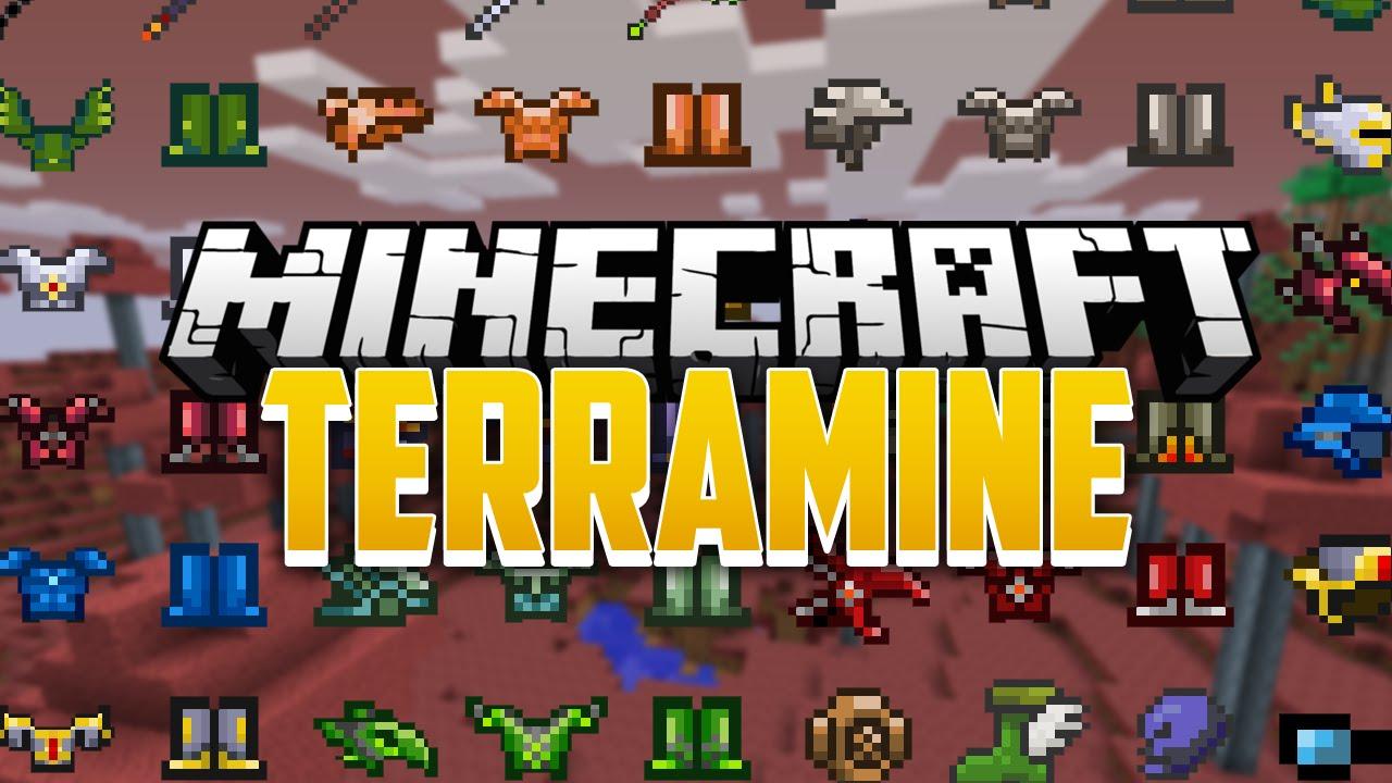 TerraMine Mod - 9Minecraft Net