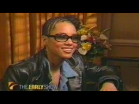 Alicia Keys At Age 21 Rare Interview (2002)