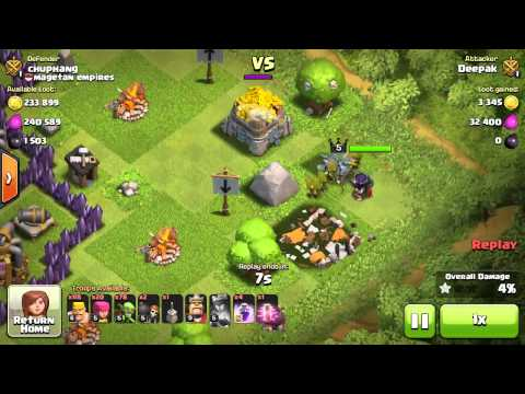 Clash Of Clans - Thanksgiving TH Sniping