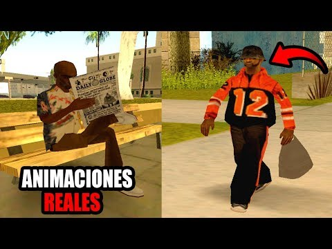 MODS REALISTAS Para El GTA SAN ANDREAS